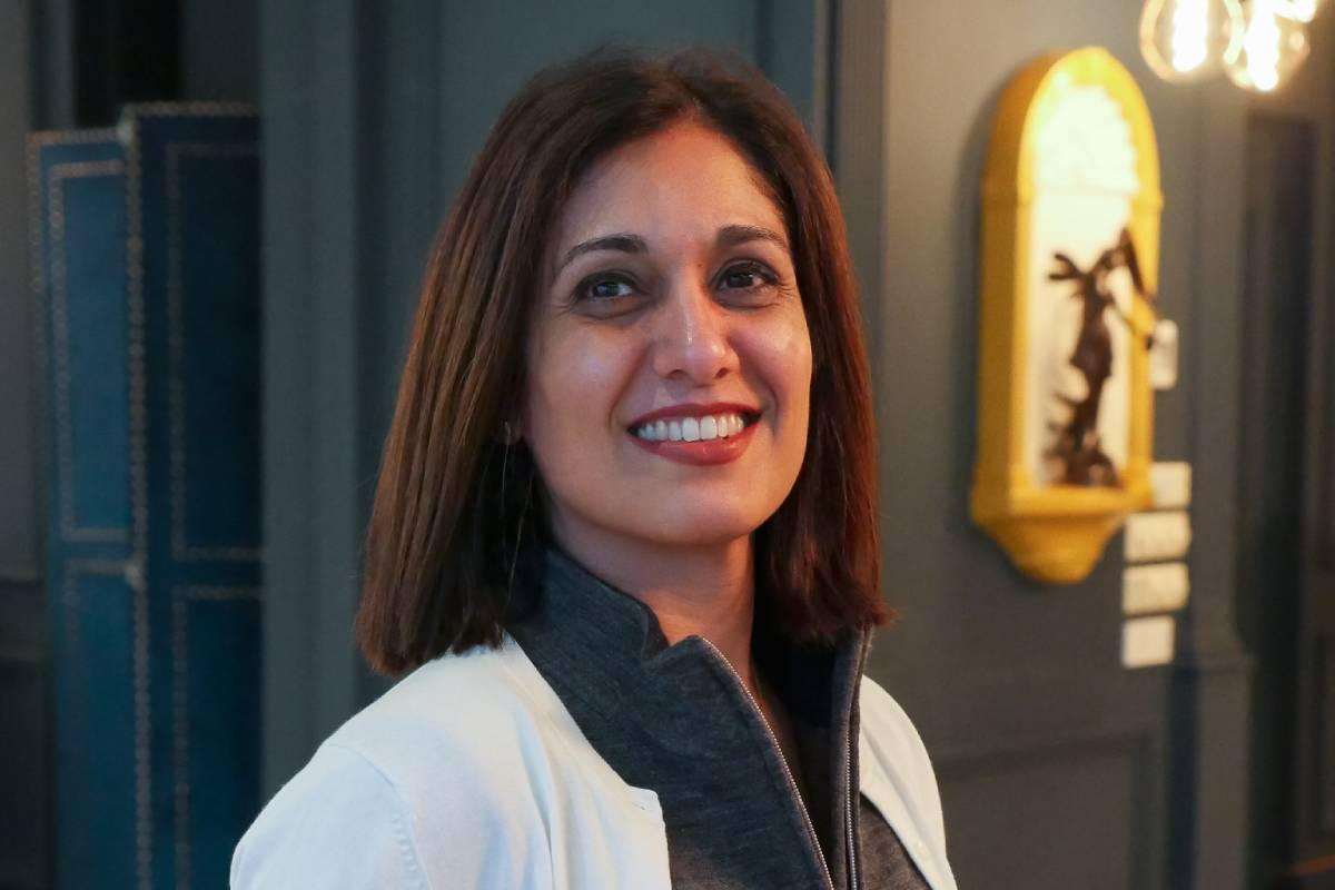 Parisa Aslani, vicepresidenta de la FIP y profesora en la Universidad de Sidney., Australia.