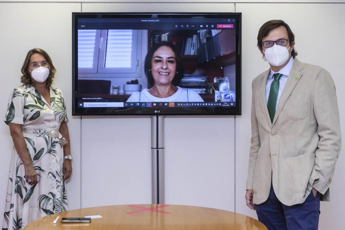 Una edición más, el jurado ha estado formado por Elena de las Heras, María Jesús Lucero y Tomas Muret. (Fotos: Luis Camacho)