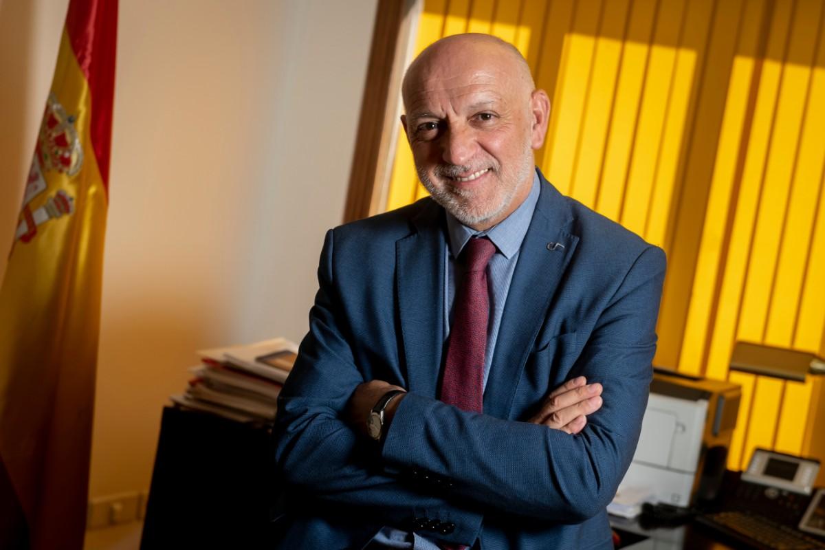 Rodrigo Gutiérrez, director de Ordenación Profesional del Ministerio de Sanidad (José Luis Pindado)