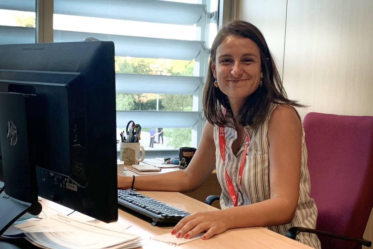 Maria Rubio-Valera, directora de Calidad y Seguridad del Paciente en el Parque Sanitario San Juan de Dios, en Sant Boi de Llobregat.