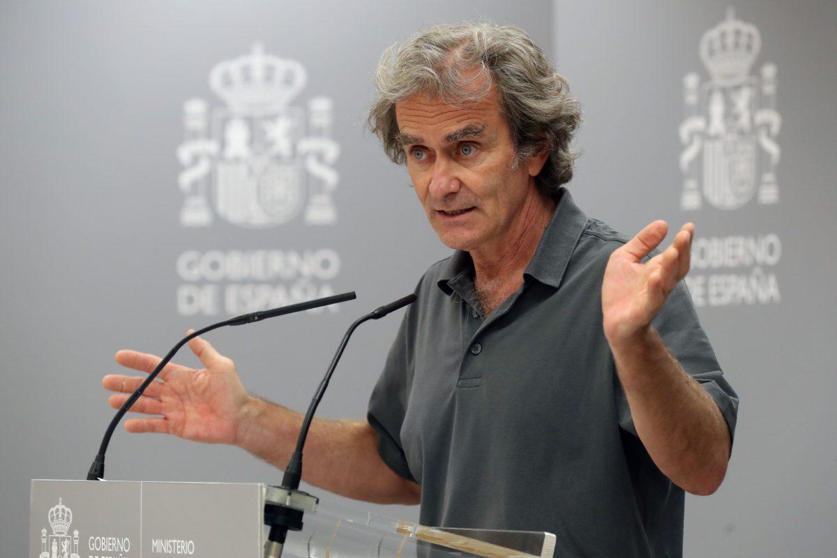 Fernando Simón, director del Centro de Coordinación de Alertas y Emergencias Sanitarias. (EFE)