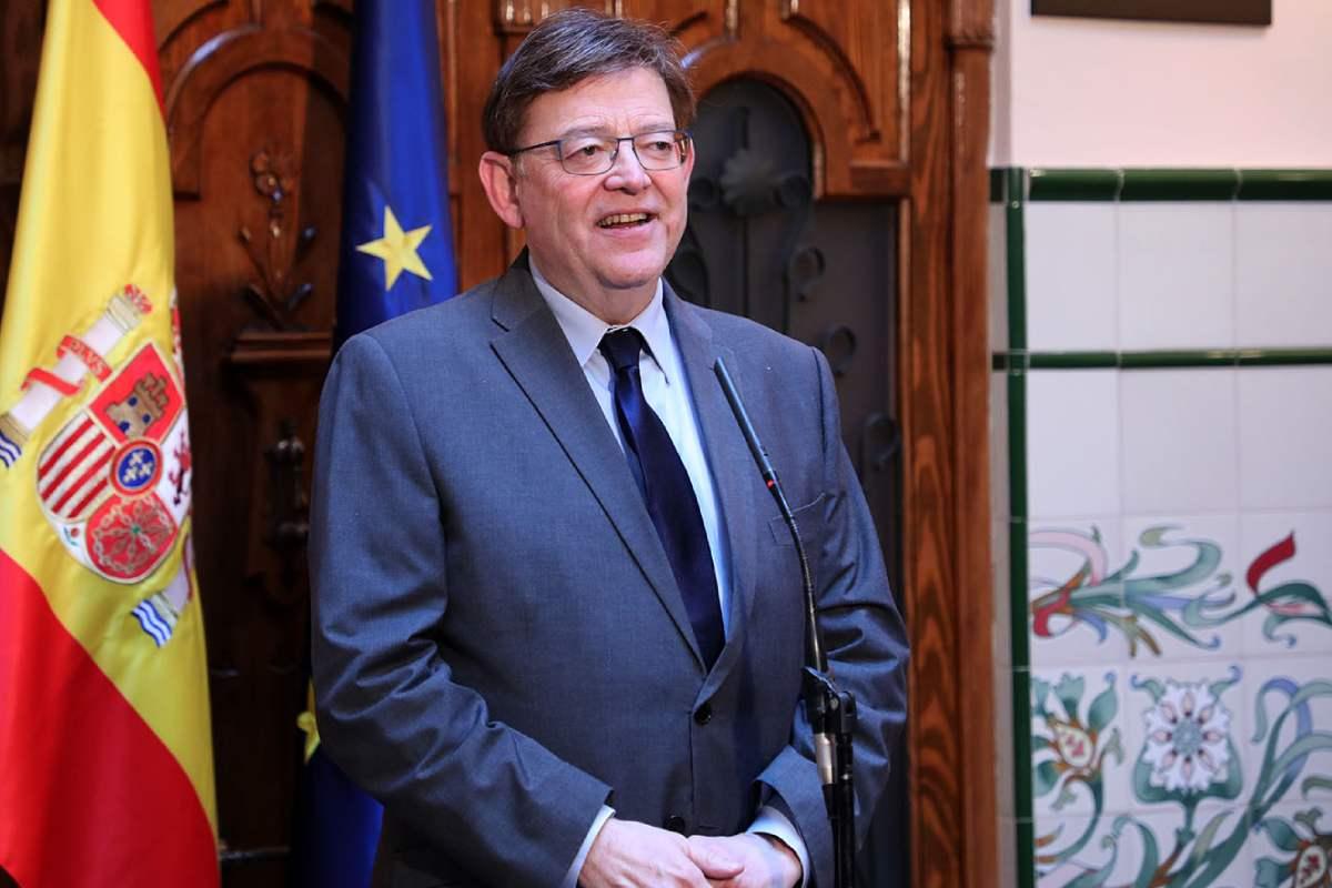 Ximo Puig, presidente de la Comunidad Valenciana. (Foto: Presidencia de la Comunidad Valenciana)