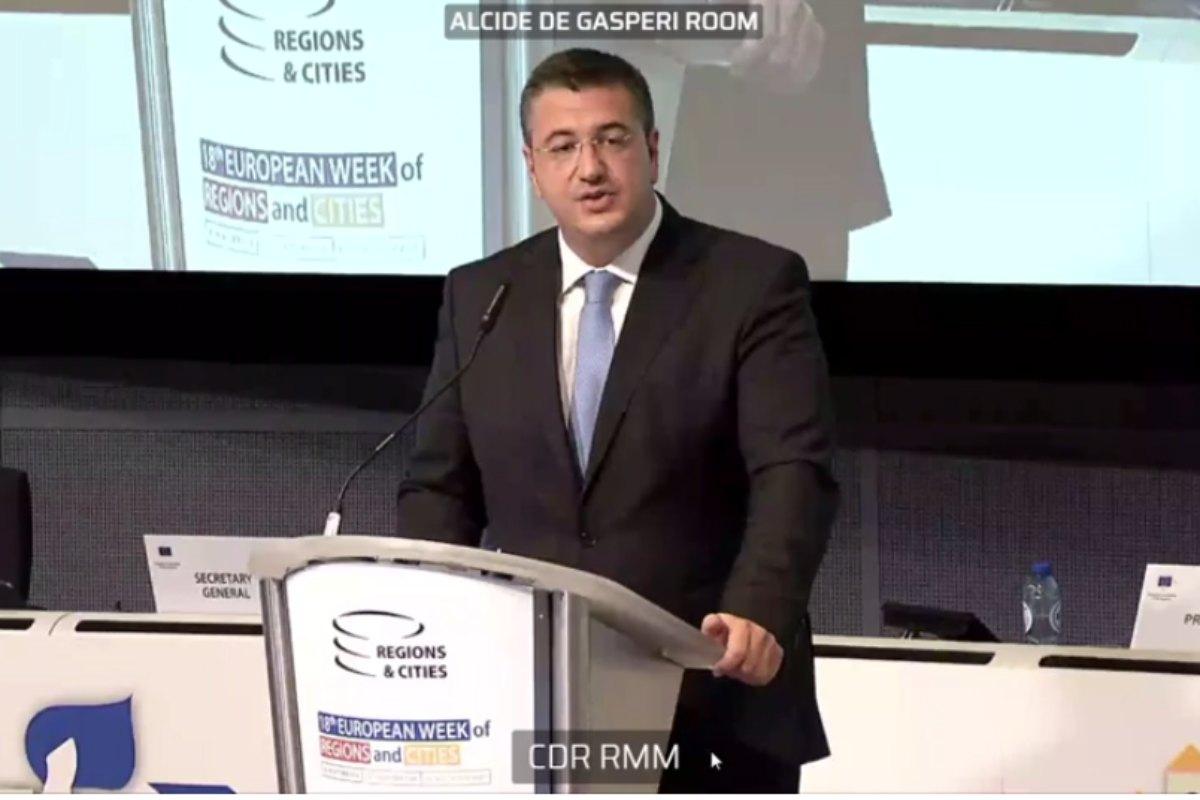 Apostolos Tzitzikostas, presidente del Comité Europeo de las Regiones (CdR).