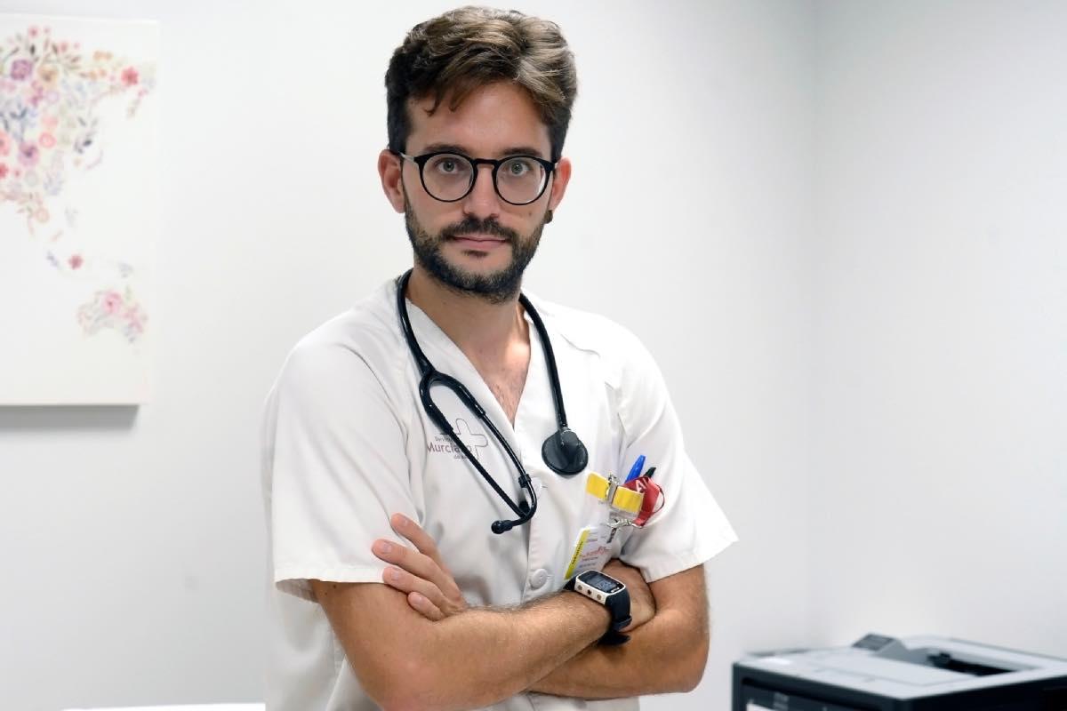 Domingo Antonio Sánchez, representante nacional de Médicos Jóvenes y en Promoción de Empleo de la OMC.