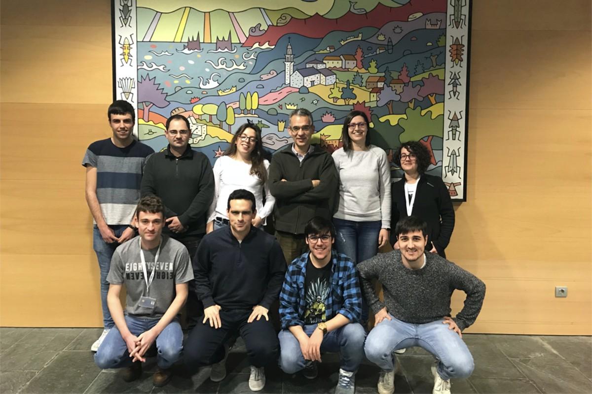 Grupo de Juan Granja en el CiQUS
