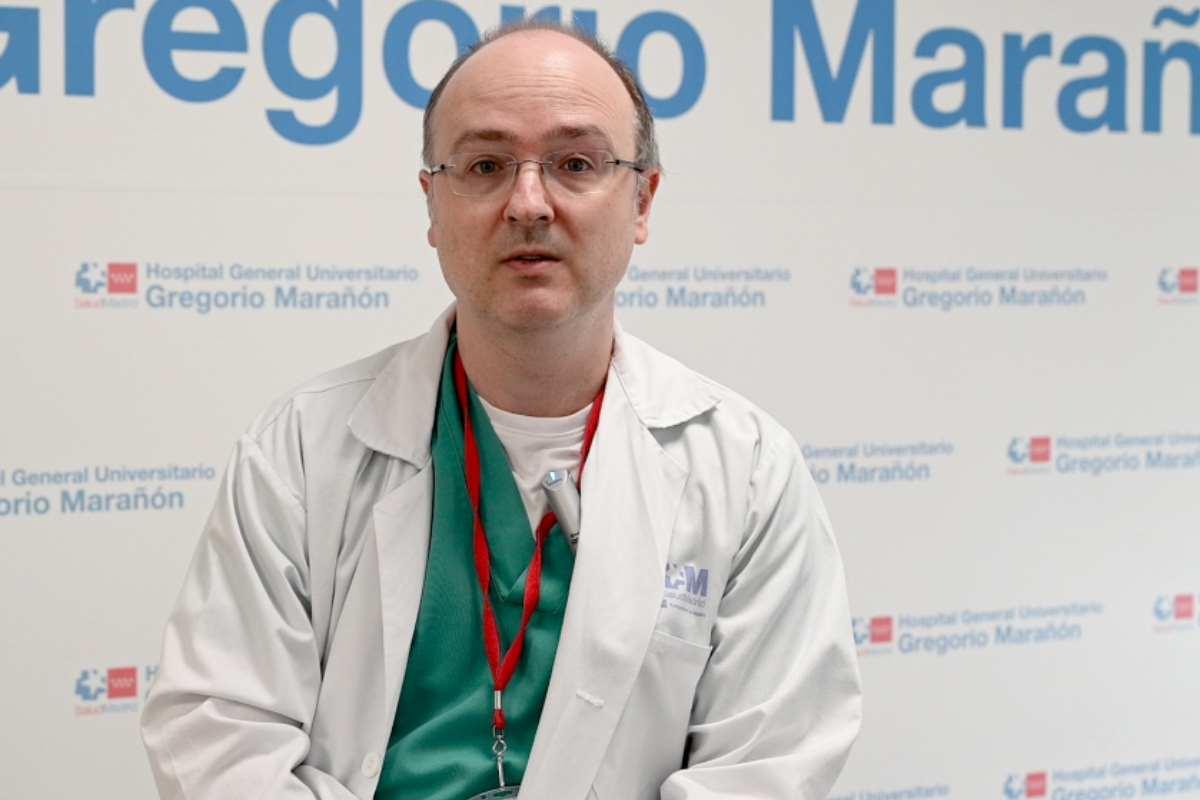 Iván Márquez Rodas, del Servicio de Oncología Médica del Hospital General Universitario Gregorio Marañón.