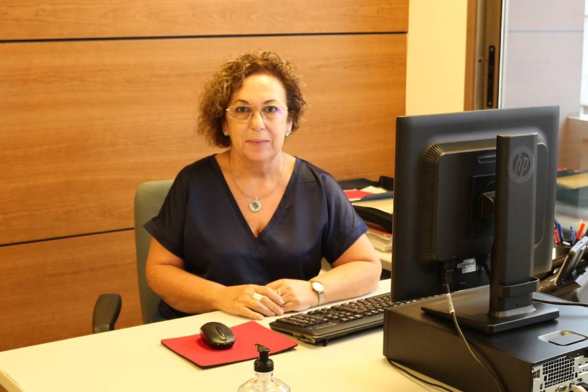 María José Lloria, comisionada de Atención Primaria y Comunitaria del Sistema Valenciano de Salud.