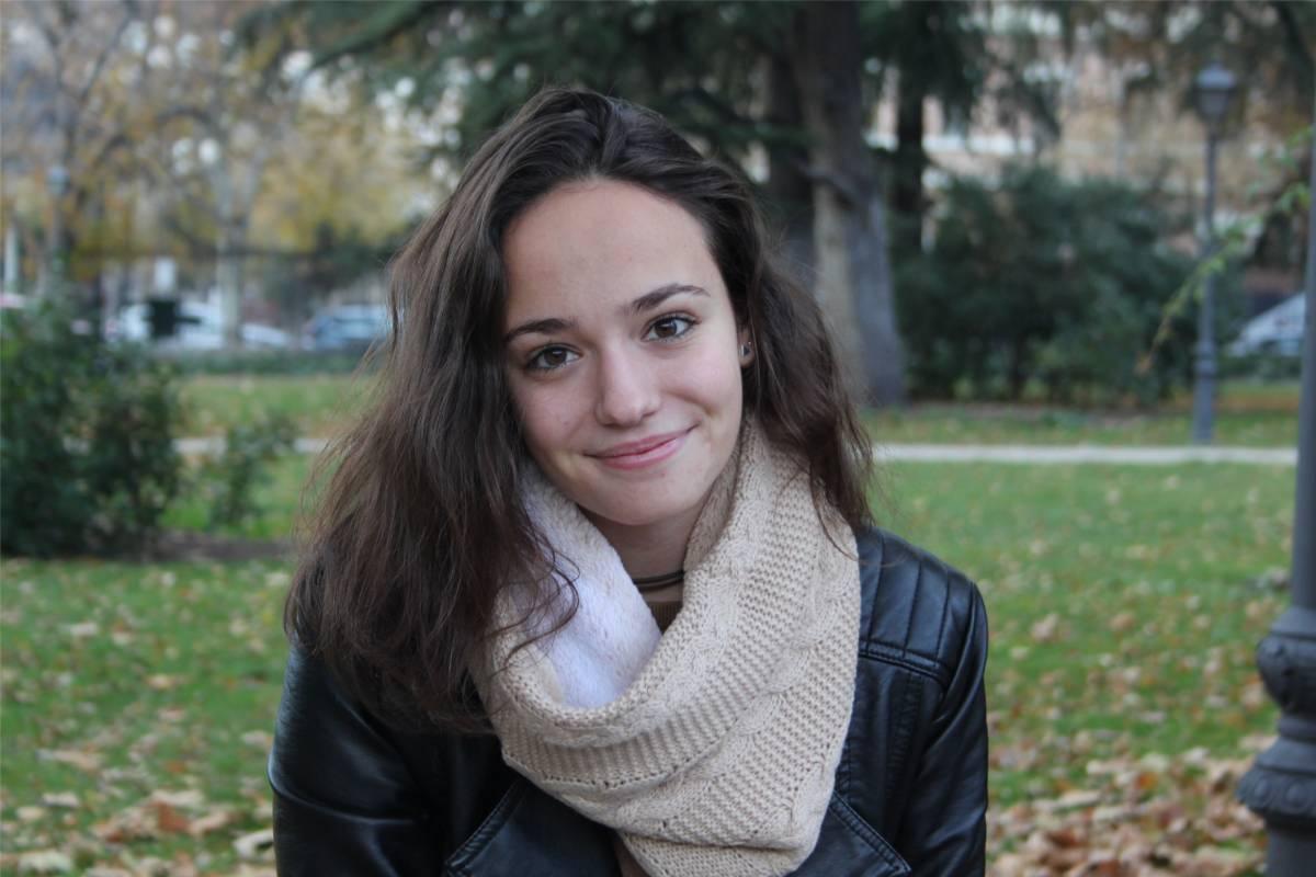 Pilar Lozano, presidenta de la Asociación Estatal de Estudiantes de Enfermería (AEEE).