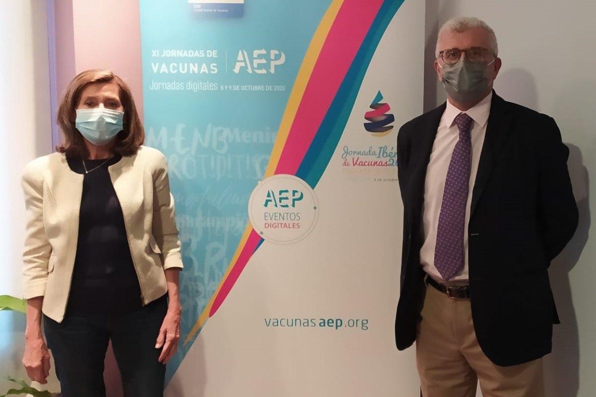 María García Onieva y Francisco Álvarez, de la AEP.