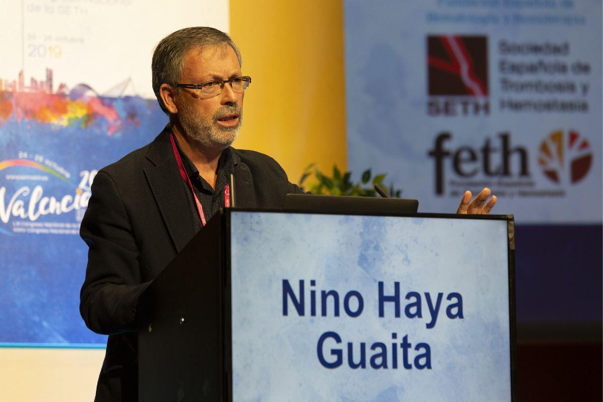 Saturnino Haya, de la Unidad de Hemostasia y Trombosis del Servicio de Hematología del Hospital La Fe, de Valencia.
