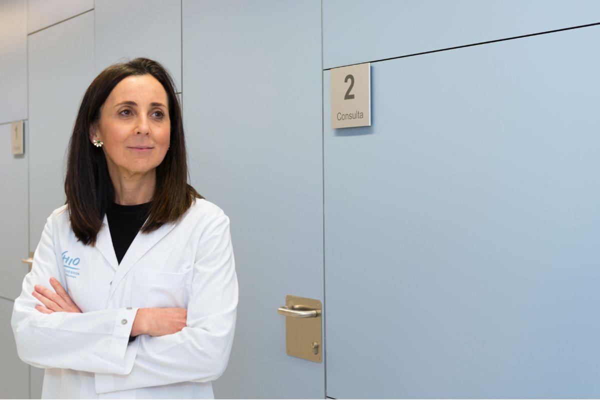 Ana Oaknin, jefe del Grupo de Neoplasias Ginecológicas del VHIO y jefe del Programa de Tumores Ginecológicos del Hospital Valle de Hebron, de Barcelona, y primera autora del estudio.