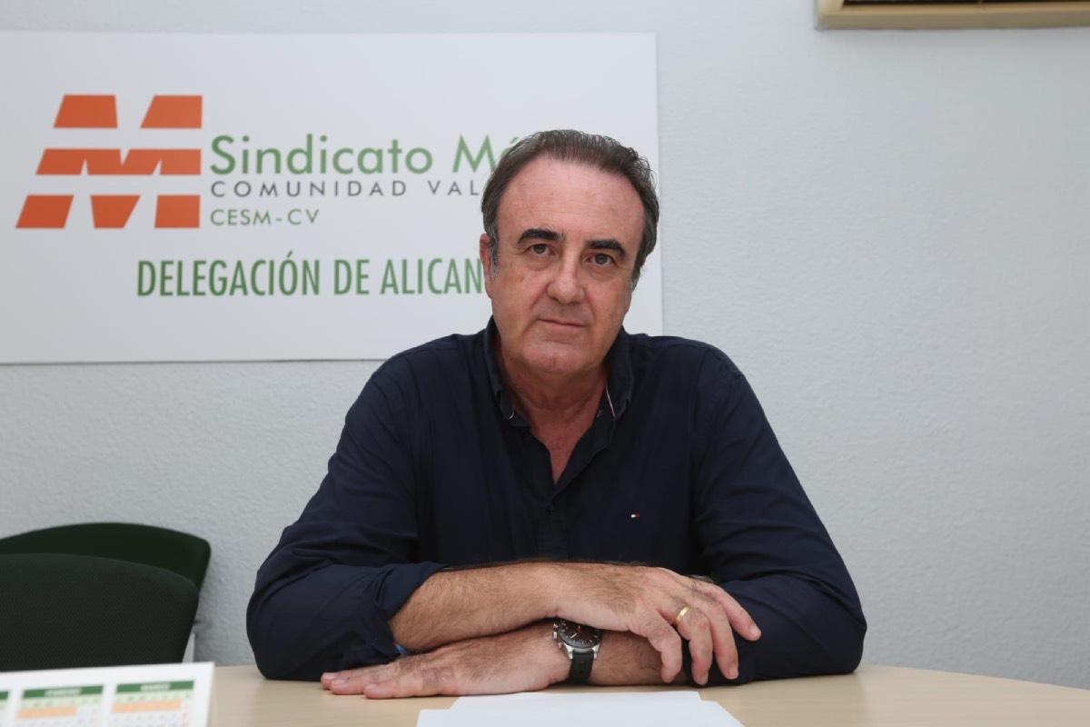 Víctor Pedrera asume el lunes oficialmente la Secretaría General de CESM en la Comunidad Valenciana.