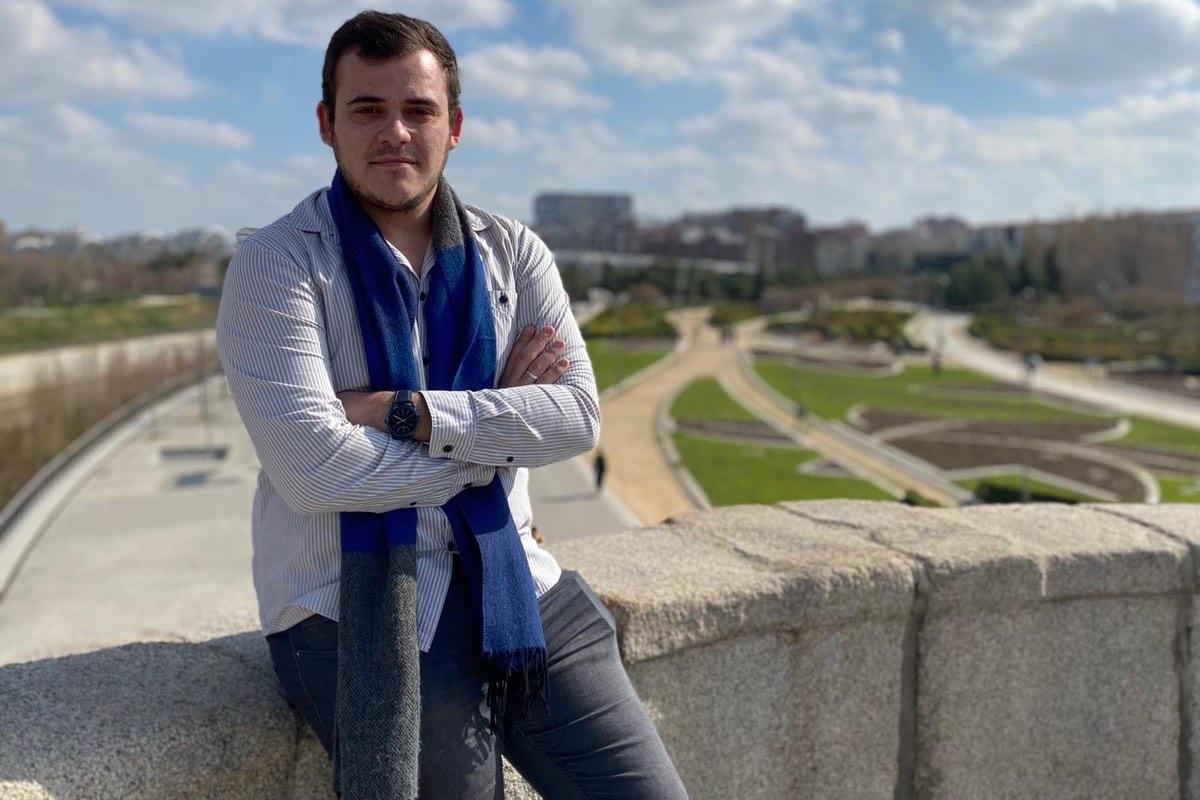 Ángel Benegas, nuevo presidente del Consejo Estatal de Estudiantes de Medicina.