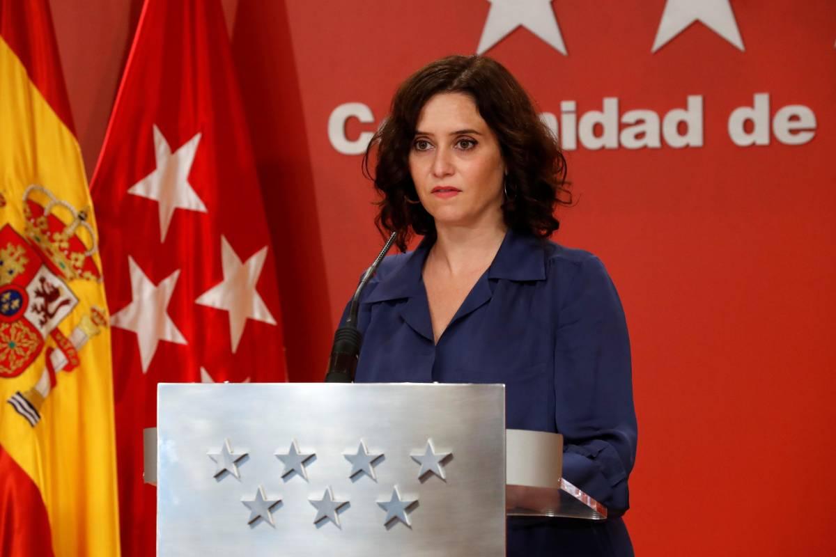 La presidenta de la Comunidad de Madrid, Isabel D�az Ayuso.
