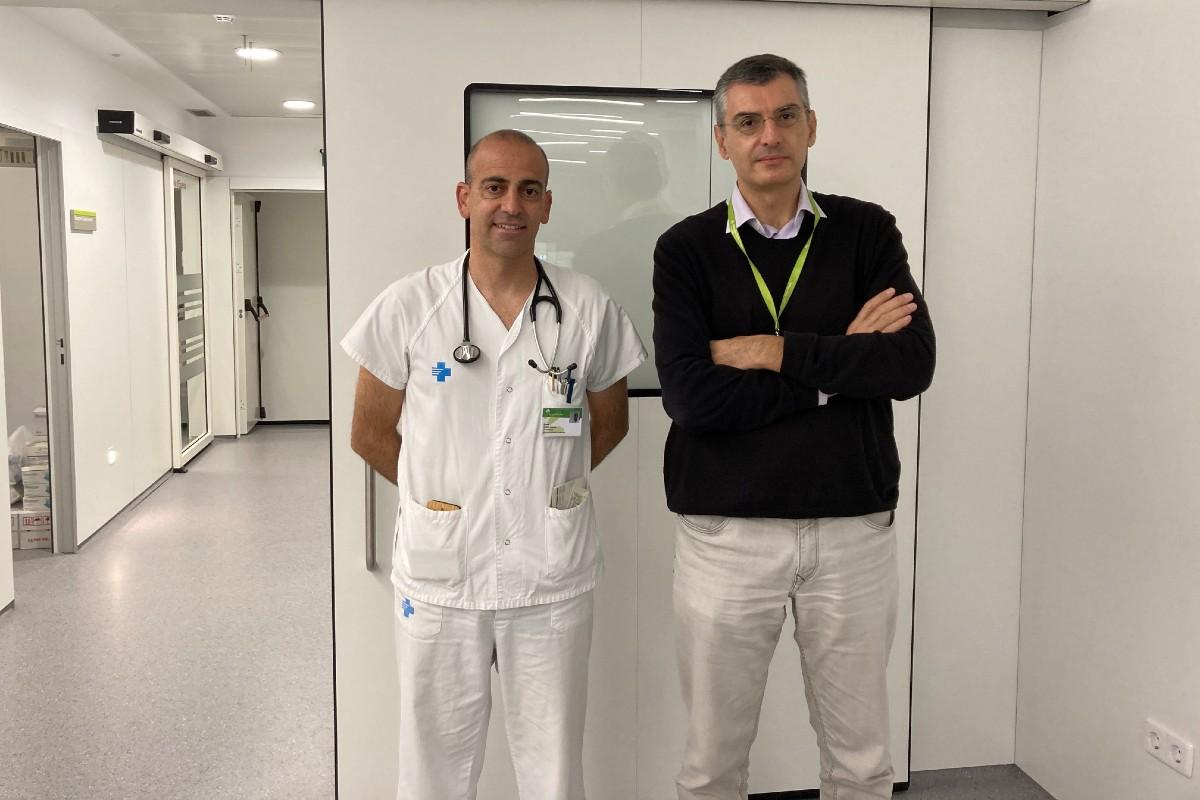 Cosme García y Antoni Bayés