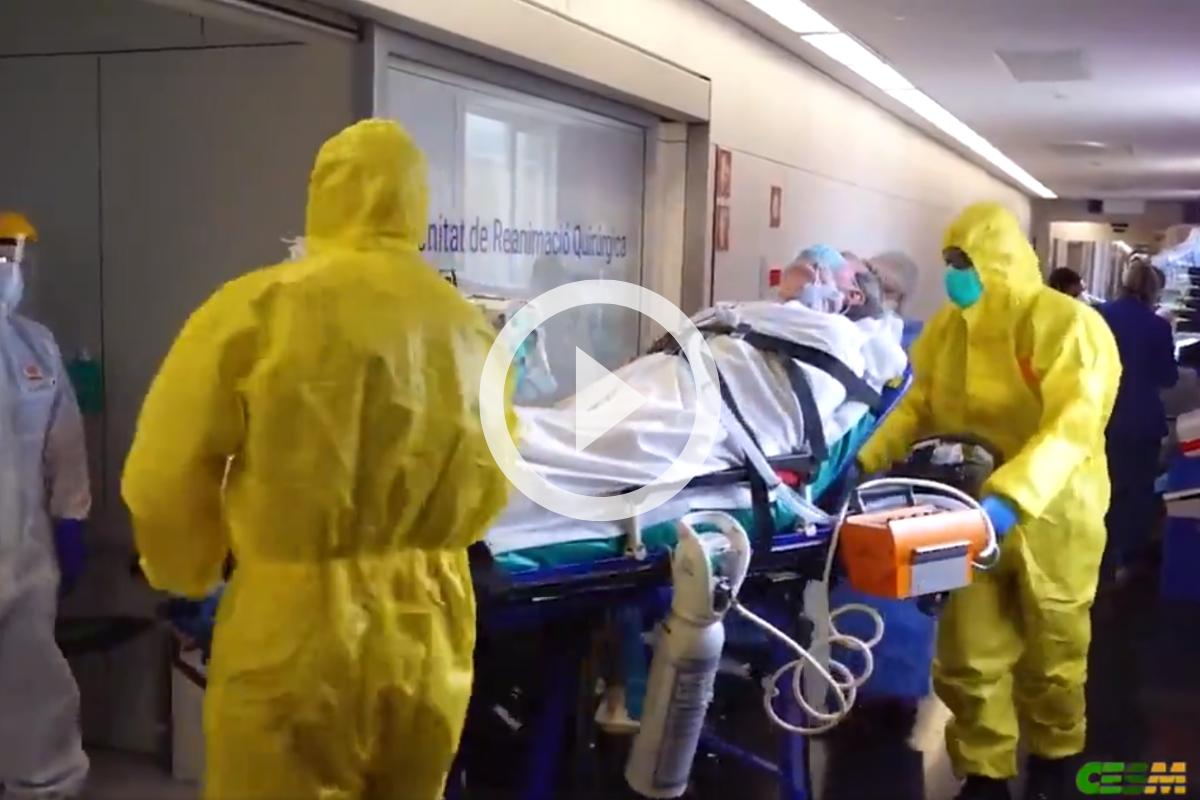 Imagen del vídeo que ha elaborado CESM para llamar a los facultativos a secundar la huelga médica indefinida.