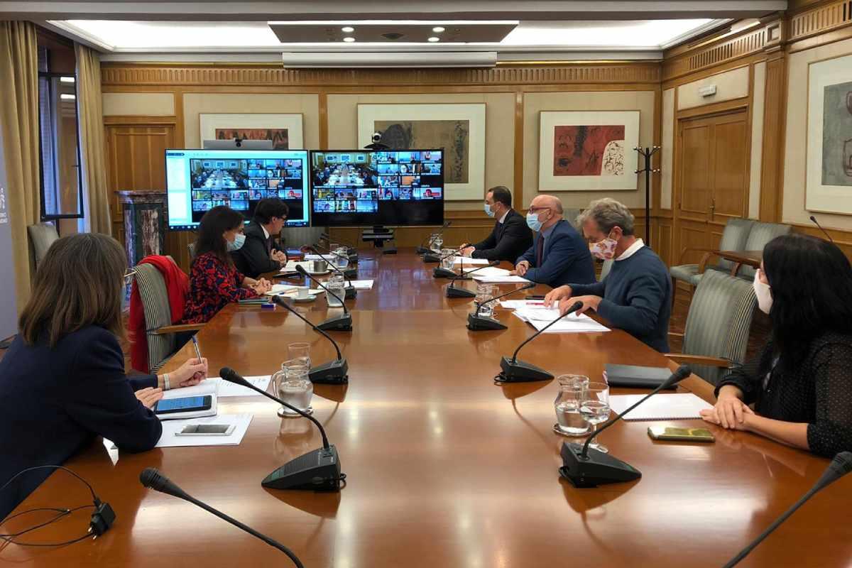 Reunión del Consejo Interterritorial del 7 de octubre (Ministerio de Sanidad)