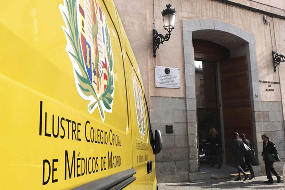 Colegio Oficial de Médicos de Madrid.
