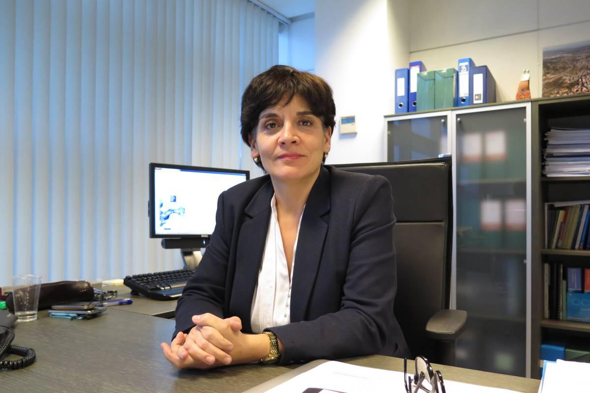 Concepción Saavedra, gerente del Servicio de Salud del Principado de Asturias (Covadonga D�az)