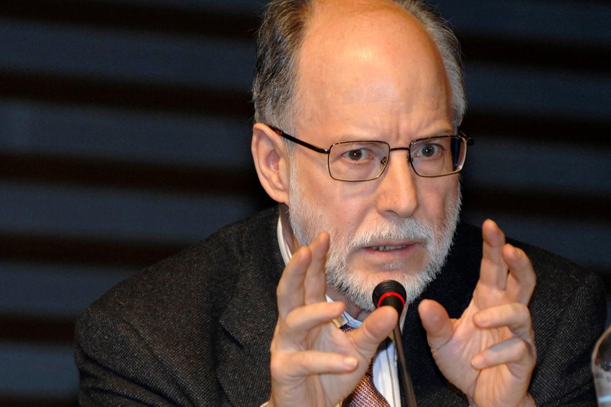 Diego Gracia, catedrático emérito de Historia de la Medicina y Bioética.