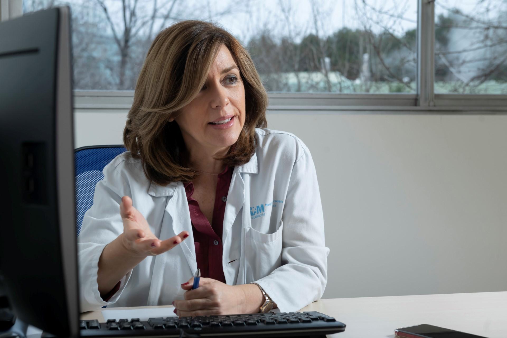 Elena Villamañán, del Servicio de Farmacia del Hospital La Paz, de Madrid.