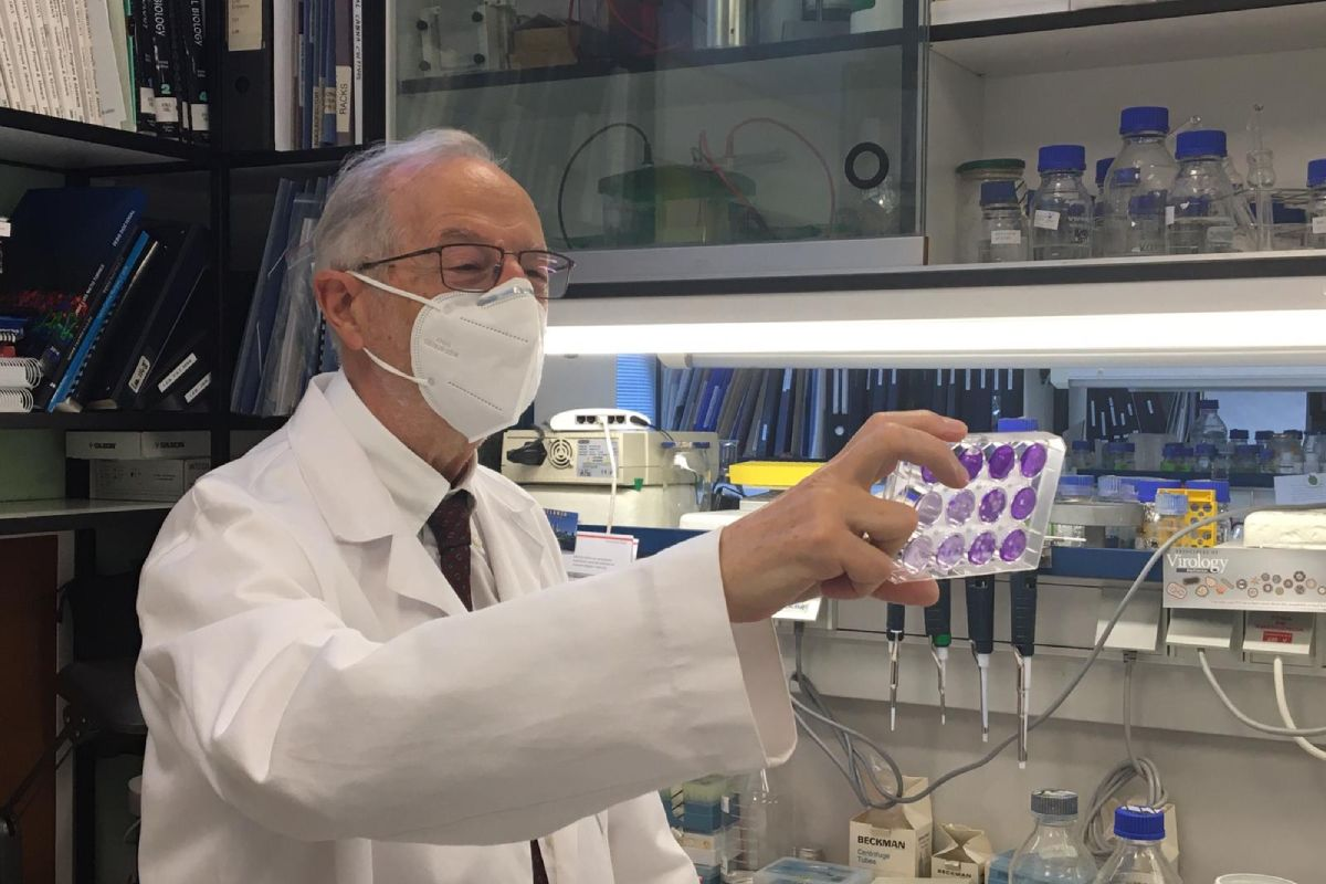 El investigador del CSIC Luis Enjuanes. Foto: Susana de Lucas (CNB-CSIC).
