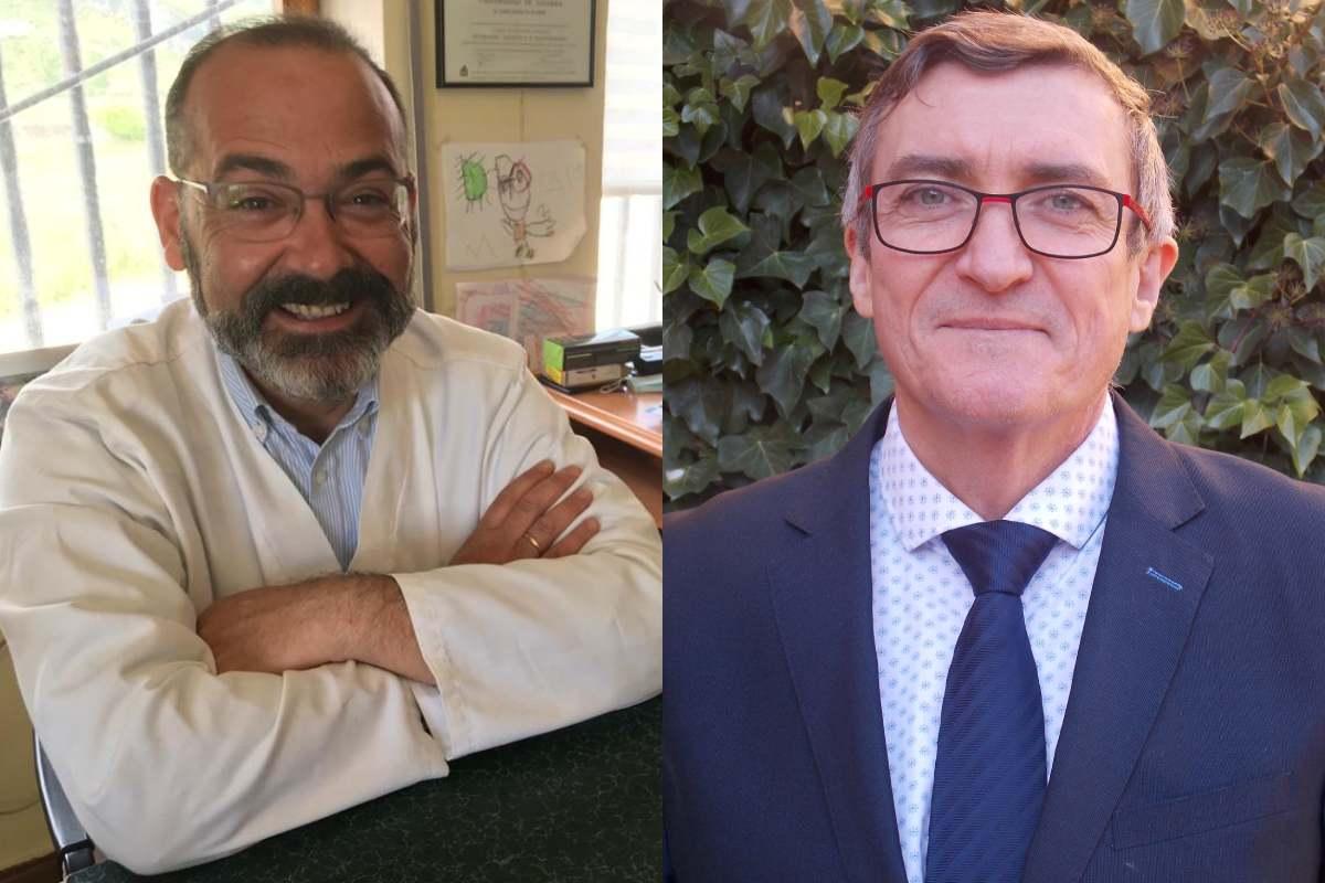 Jaime Espolita, presidente de Sefar, y Mariano González, presidente de Fefcam.