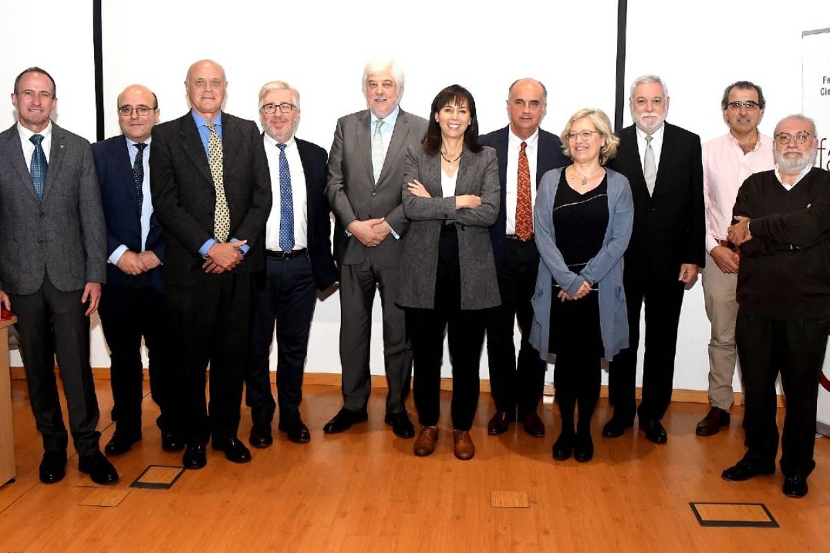 La actual junta directiva de Facme para el periodo 2020-2023