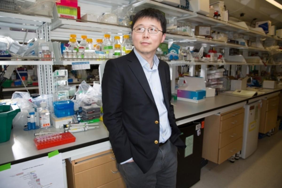 Feng Zhang, del Instituto Broad de la Universidad de Harvard.