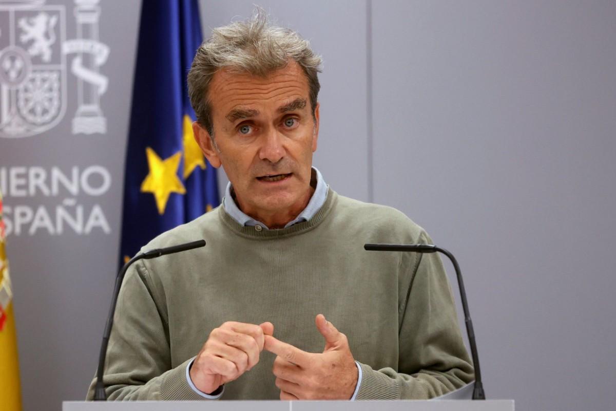 Fernando Simón, director del Centro de Coordinación de Alertas y Emergencias Sanitarias (EFE/Juanjo Martín)