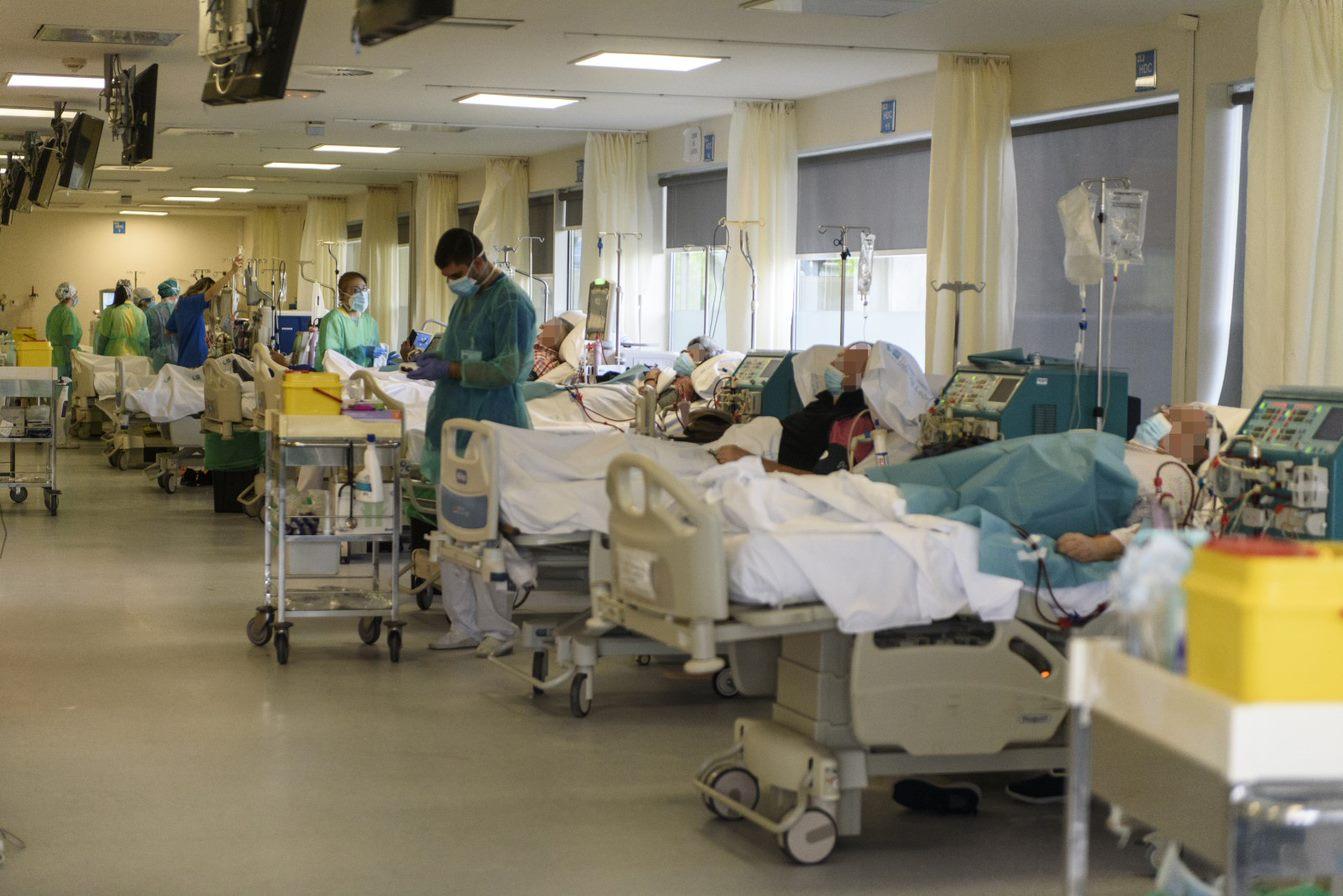 Servicio de Nefrología del Hospital Universitario Infanta Leonor (Foto de Luis Camacho)