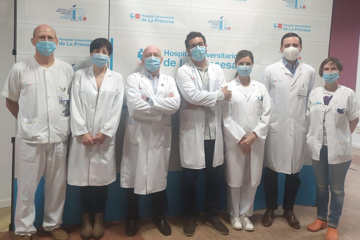 Equipo del Instituto de Investigación del Hospital La Princesa, en Madrid, que ha realizado el trabajo.