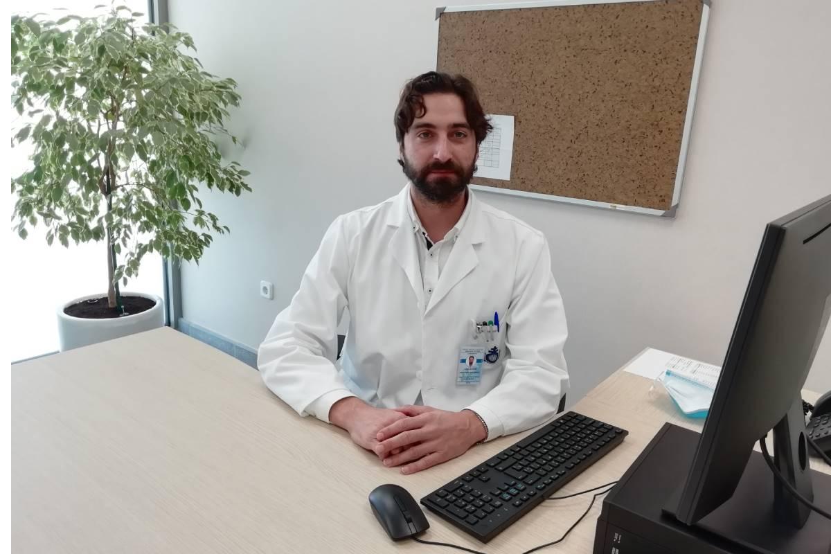 Juan Diego Martínez es el coordinador facultativo del área de Salud Mental del Centro San Juan de Dios de Ciempozuelos.
