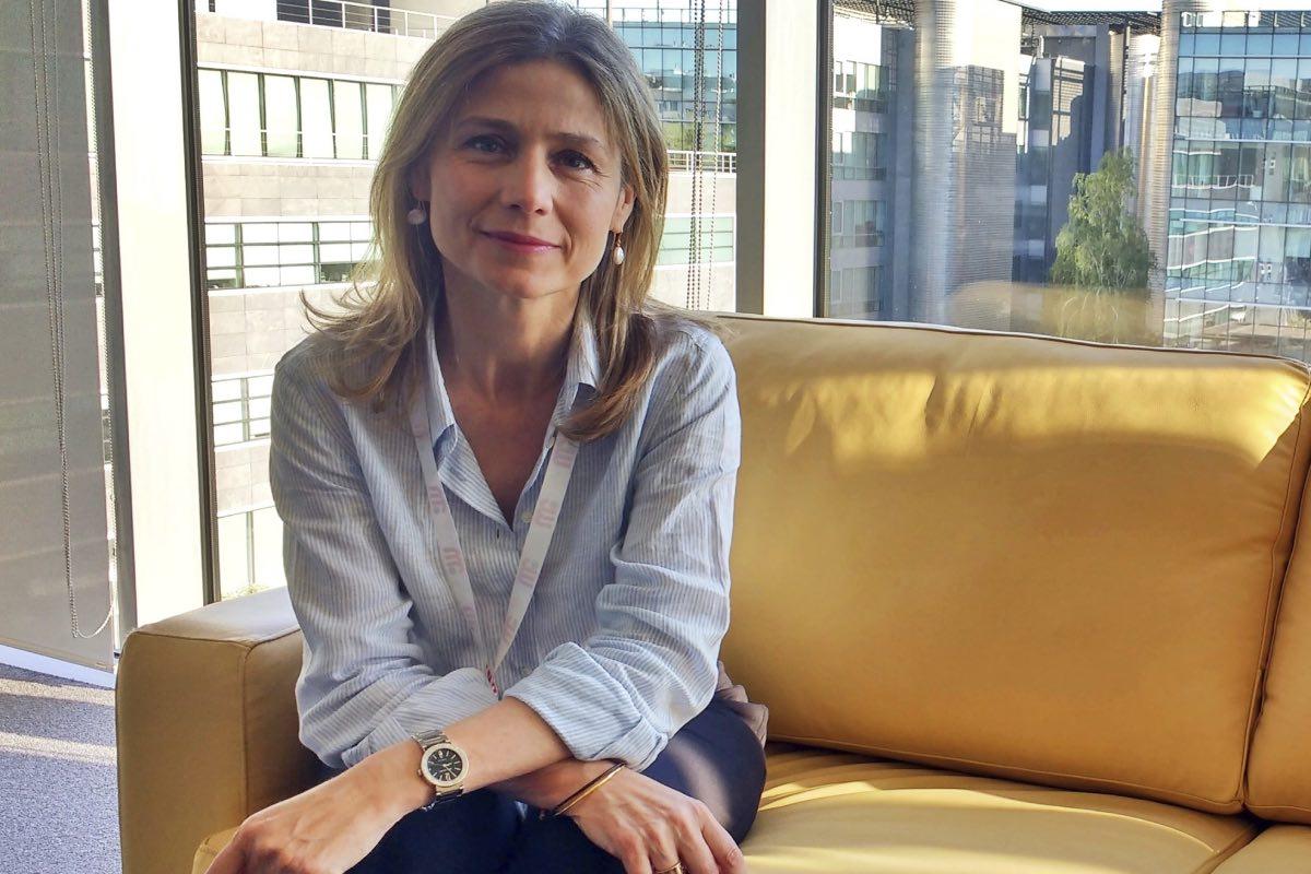 María Jesús Lamas, directora de la Aemps, en las instalaciones de la agencia.