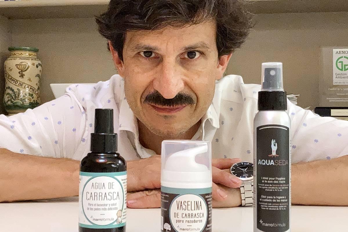 Diego Marro, farmacéutico comunitario en Huesca.