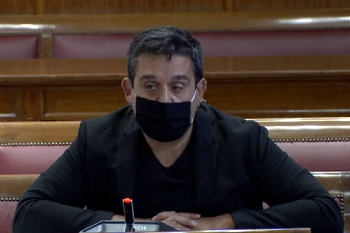 Carlos Mulet, senador de Comprom�s.