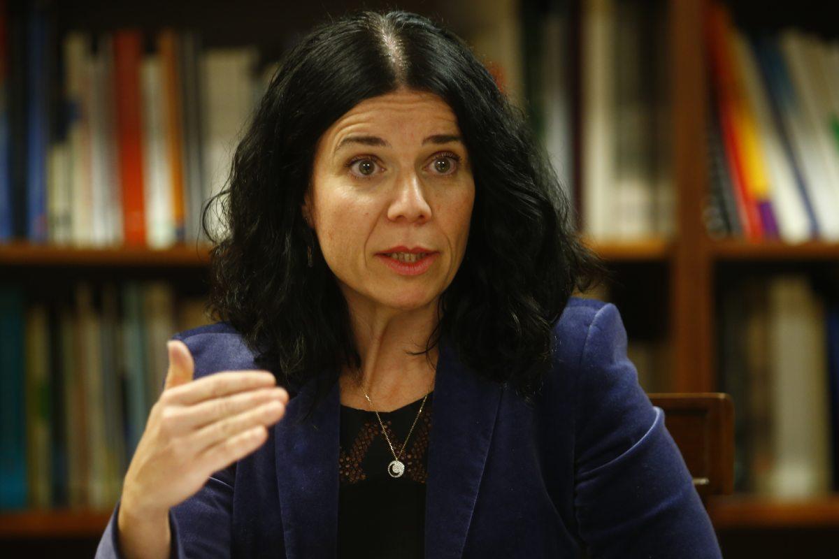 Patricia Lacruz, directora general de Cartera Básica de Servicios del Sistema Nacional de Salud y Farmacia del Ministerio de Sanidad.