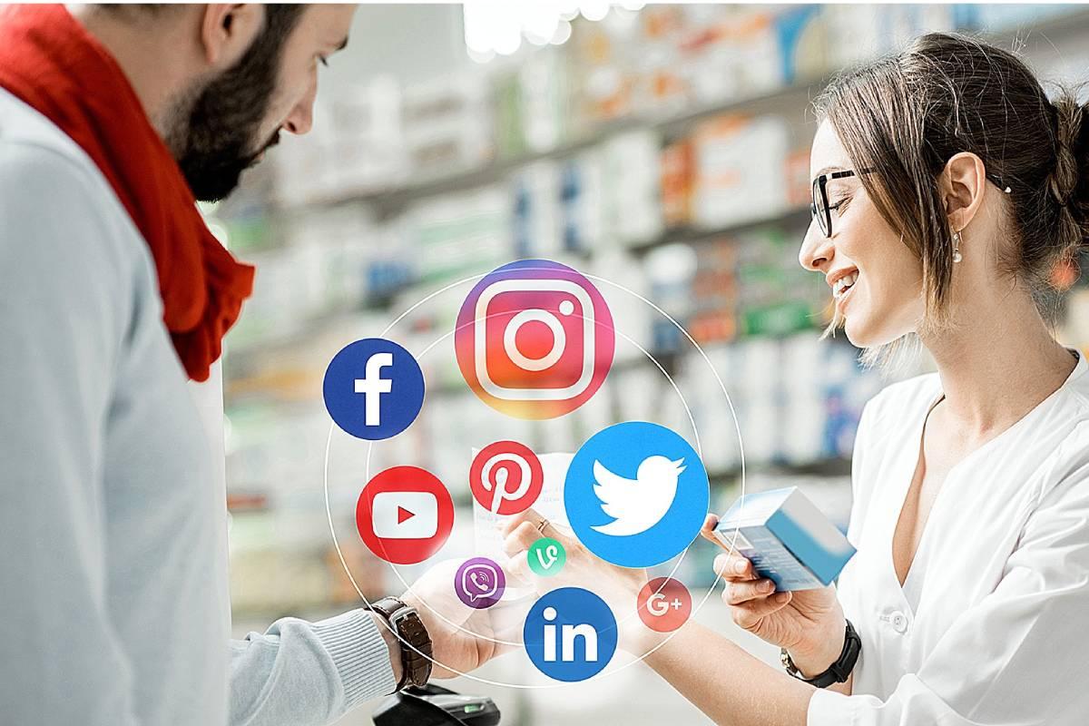 Uso de redes sociales por el farmacéutico.