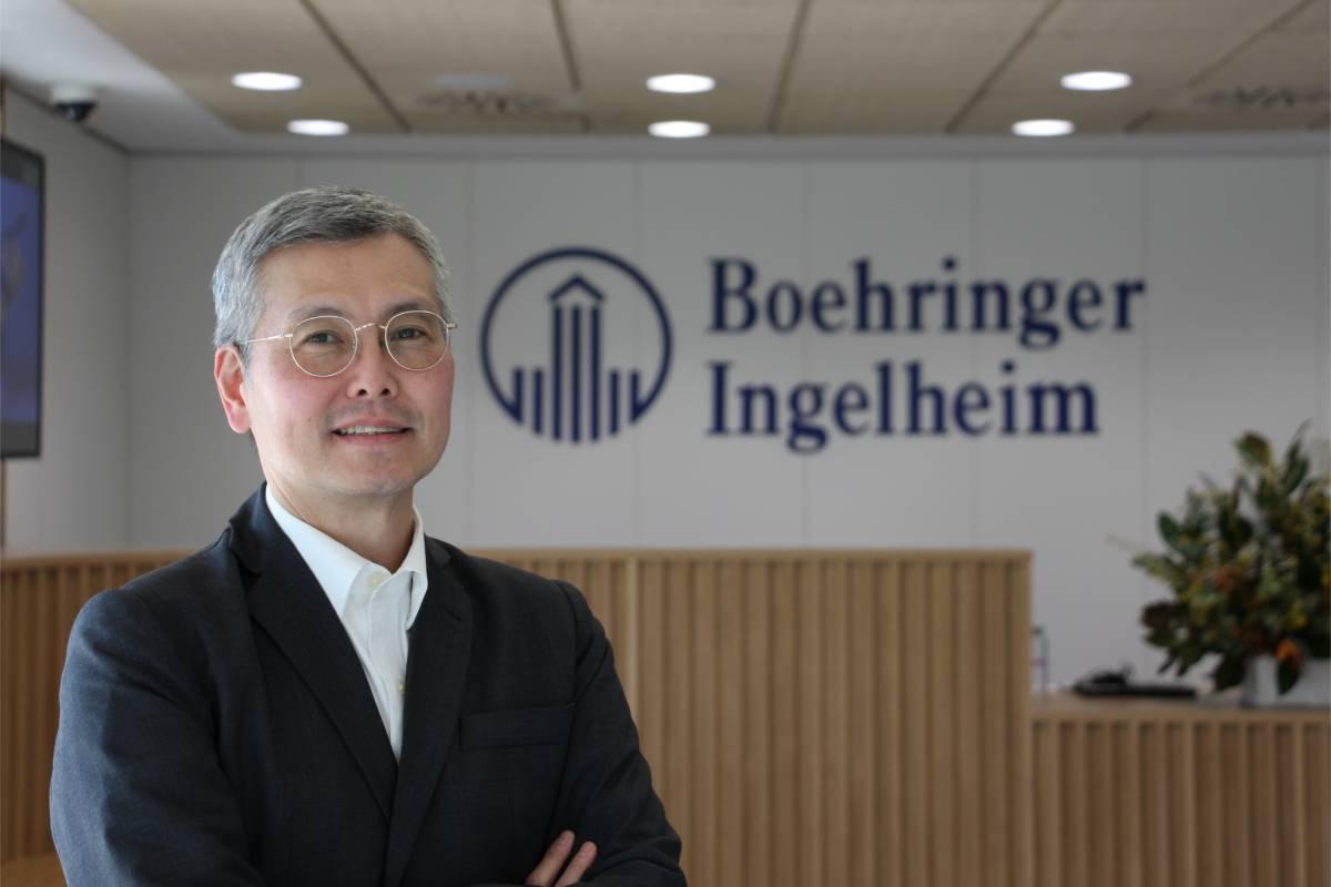 René Saito, director gerente de la Dirección Médica y de I+D de Boehringer Ingelheim.
