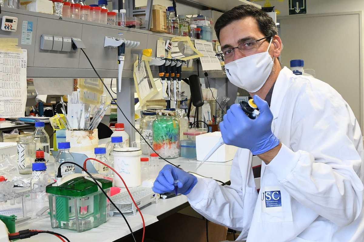 Rubén Nogueiras, investigador del Centro Singular de Investigación en Medicina Molecular y Enfermedades Crónicas de la Universidade de Santiago de Compostela