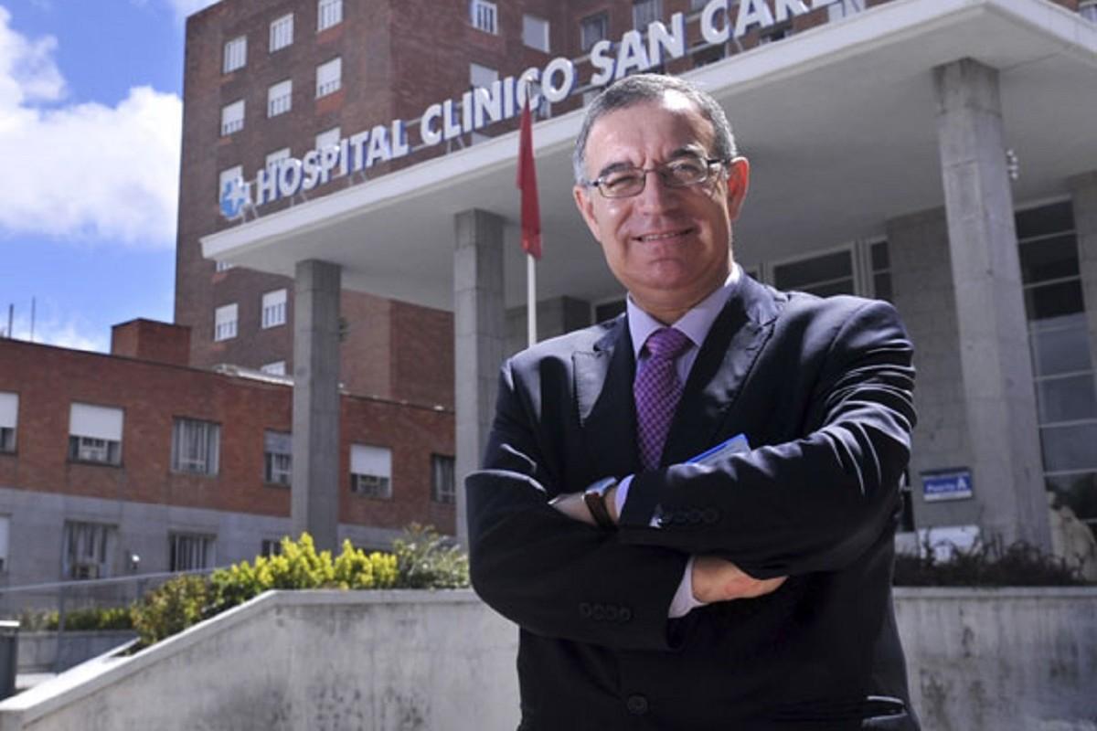 José Soto, gerente del Hospital Clínico San Carlos, de Madrid