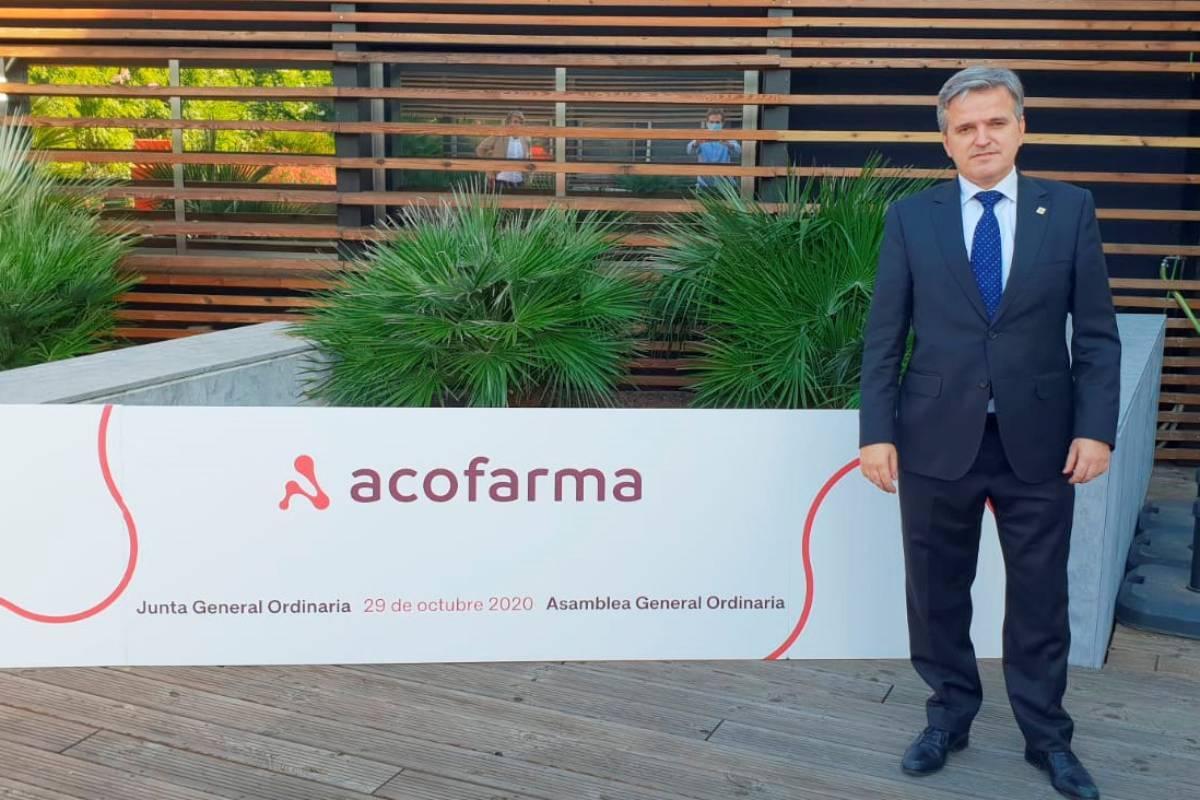 Xavier Casas, nuevo presidente de Acofarma.