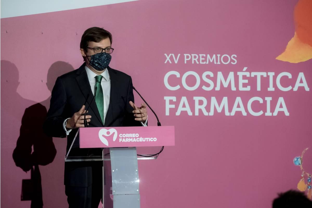 Tomás Muret, vocal de Dermofamacia del Consejo General de COF.