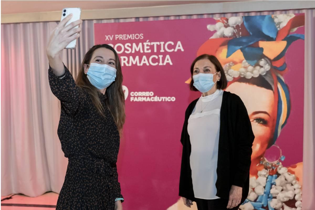 Fátima Castaño y Pilar Cairó, de la Fundación Stanpa.