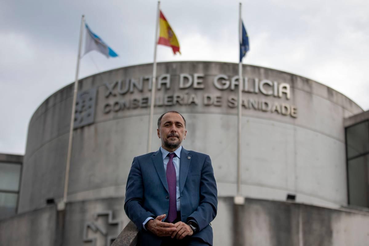 Julio García Comesaña, consejero de Sanidad de Galicia.
