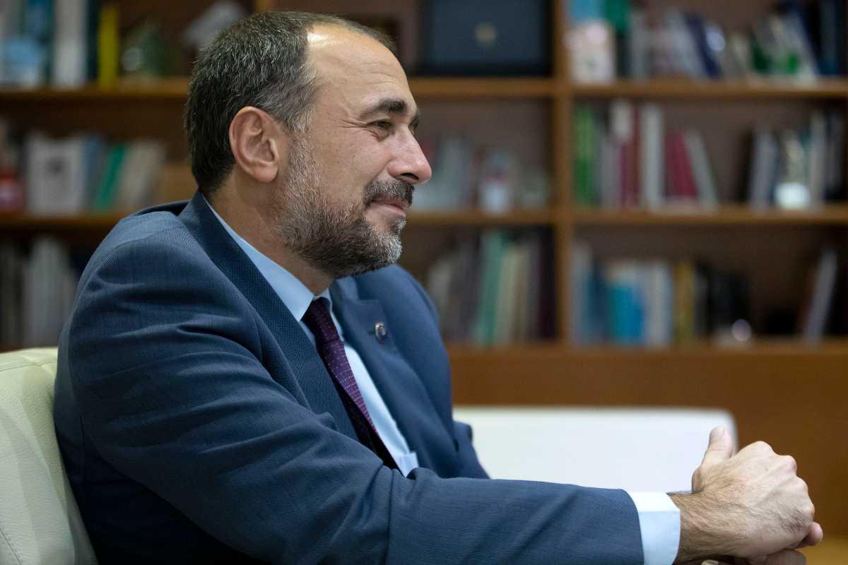 Julio Garc�a Comesaña, consejero de Sanidad de Galicia.