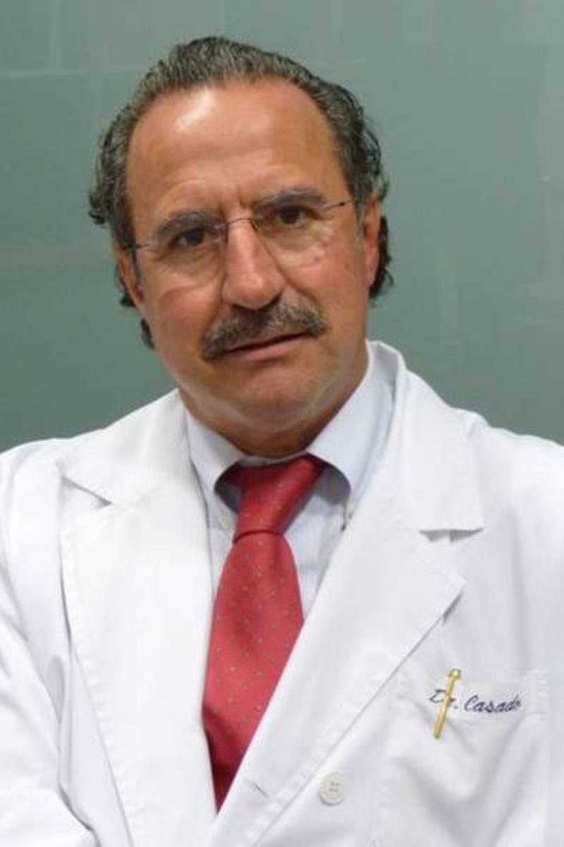 César Casado, jefe de Servicio de Cirug�a Plástica del Hospital La Paz (Madrid).