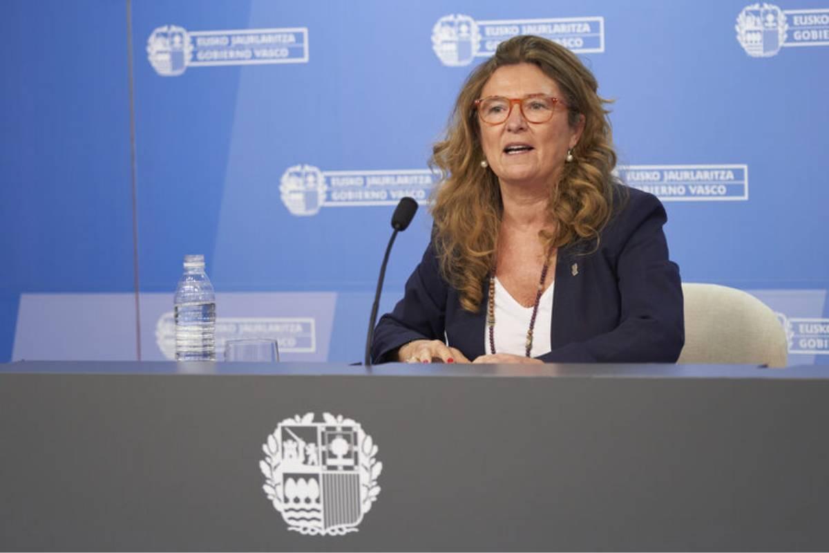 Gotzone Sagardui, consejera de Salud del País Vasco (Irekia)