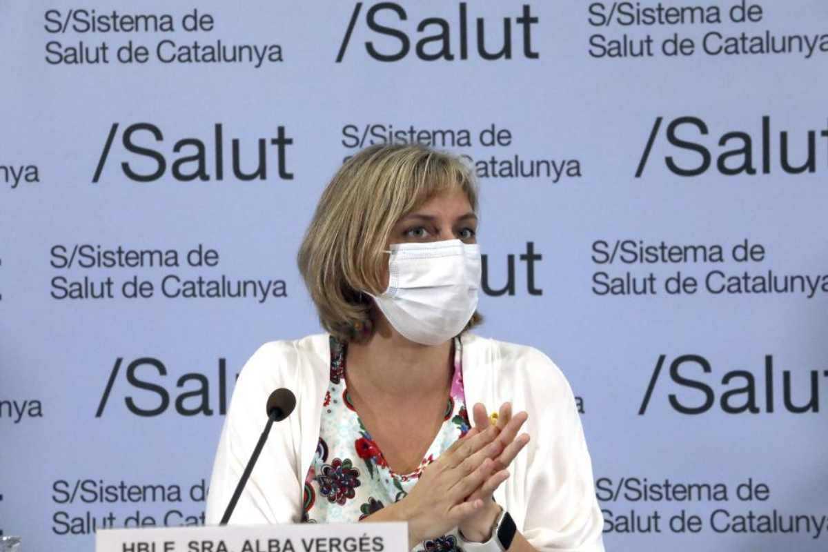 La consejera Alba Vergés.