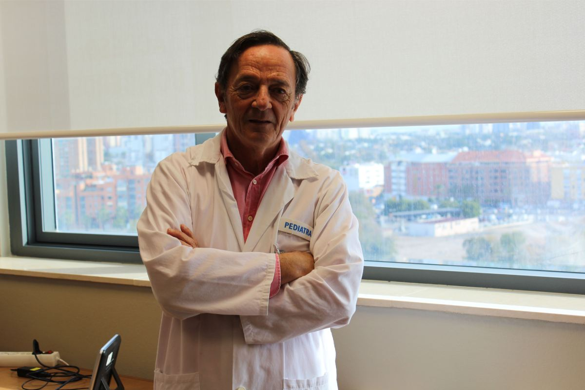Máximo Vento, director de Investigación del Hospital La Fe de Valencia, y presidente de la Sociedad Europea de Neonatología.